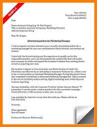 11 marketing manager cover letter informal letters