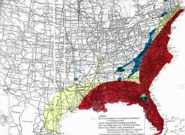 Map East Coast Florida by Caribbean East U0026 Gulf Coast Tsunami Ubm David Eells