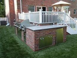 L Shaped Outdoor Kitchen by Custom Built Outdoor Kitchens 2011 Reverse L Shape Kitchen Sav