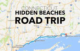 Connecticut On Map Hidden Beaches Road Trip In Connecticut Is Perfect For Summer