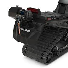 integrated 1500lb winch polaris snowmobiles