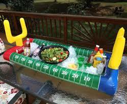 football stadium inflatable salad buffet bar food beer ice cooler