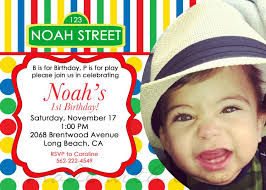 design inexpensive 1st birthday boy invitation message with high