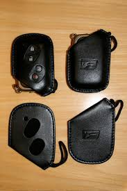 isf lexus jdm ca is f leather key fob holder both us and jdm versions rare