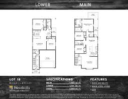 Income Property Floor Plans Legacy Series Of Fine Homes Westhills