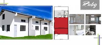 Row House Model - ruby house model low cost row house with provision for loft floor