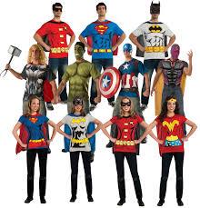 ladies halloween t shirts superhero t shirt adults fancy dress comic book mens ladies
