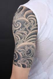 black and grey cloud tattoos 14 half sleeve clouds tattoos
