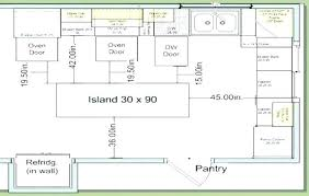 standard kitchen island size average size of kitchen island average kitchen island size new