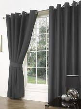 Black Eyelet Curtains 66 X 90 Mali Thermal Blackout Eyelet Curtains 46 54 Memsaheb Net