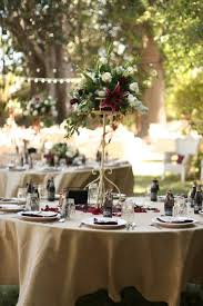 Tall Wedding Reception Centerpieces by Absolutely Beautiful Tall Table Centerpieces With Burgundy And