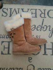 s ugg australia plumdale boots ugg plumdale charm chestnut boots size 5 ebay