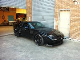 modified porsche 944 black porsche 944 wide body whips pinterest cars porsche