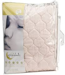 Organic Cotton Crib Mattress Greenbuds Organic Cotton Quilted Crib Mattress Pad