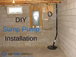 diy sump pump make u0026 install your own basement sump