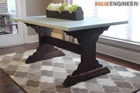 Diy Table Plans Free by Monastery Dining Table Free Diy Plans Rogue Engineer