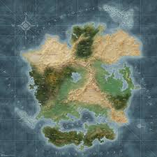 Blank Continent Map The Pictures For U003e Blank Fantasy Maps