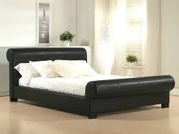 headboards leather headboard sleigh bed camelback style bonded