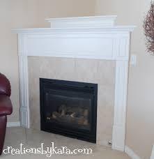 gift diy faux fireplace
