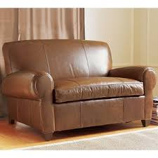 pottery barn chair and a half slipcover pottery barn manhattan leather chair and a half i really like the