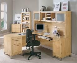 Bush Desk With Hutch Bush Somerset 71 L Shape Computer Desk In Maple Cross Wc81410k