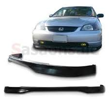 2003 honda civic type r made for 2001 2003 honda civic type r style jdm front bumper pu