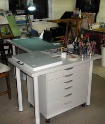 Drafting Table Ikea Furniture Drafting Table Ikea Ideas With Paper Drawer And Hobby