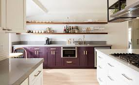 kitchen cabinets that look like furniture here s how to get in on the two toned kitchen cabinet trend