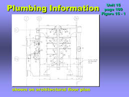 plumbing prints unit ppt download
