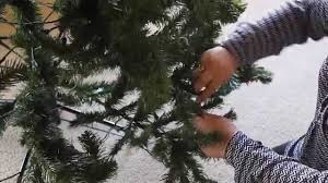 Where To Buy A Fake Christmas Tree How To Set Up An Artificial Christmas Tree Youtube