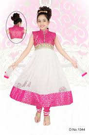 pink color combination white and pink color combination girls net anarkali