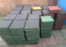 china grain rubber mat floor mat rubber tiles with top level