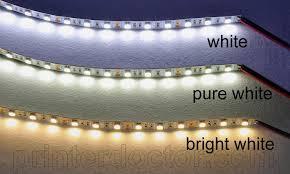Led Ceiling Strip Lights by 16 Ft 4 Inch Undercabinet Led Strip Light Daylight White Under