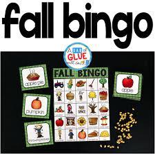 thanksgiving bingo free fall bingo a dab of glue will do