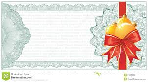 golden christmas gift certificate or discount stock vector image