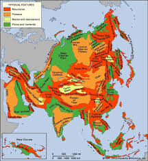 regional map of asia asia the regions of asia continent britannica