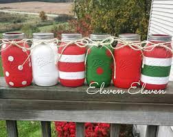 Decoration Christmas Jars by Merry Burlap Ribbon Painted Christmas Mason Jars Painted
