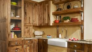 rustic kitchen cabinet ideas rustic hickory kitchen cabinets solid wood kitchen furniture ideas