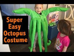 Octopus Halloween Costume Super Easy Octopus Halloween Costume