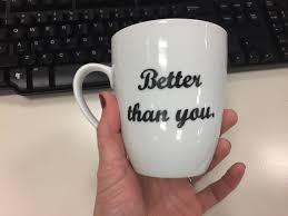 how i made these personalized coffee mugs for my favorite