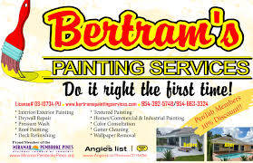 contact us bertram u0027s painting services