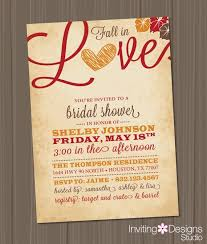 Inexpensive Bridal Shower Invitations Fall In Love Bridal Shower Invitations Kawaiitheo Com