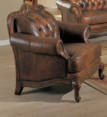 coaster shiloh leather accent chair fss commerce zoostores