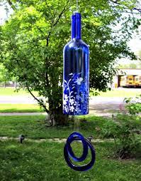 Glass Garden Decor Glass Bottles Garden Decor That Will Steal The Show