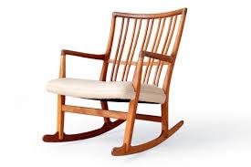 Oak Rocking Chairs Danish Mid Century Modern Vintage Lounge Easy Chairs Teak Rosewood