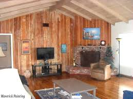 stained wood panels stained wood paneling painting ideas room pinterest billion