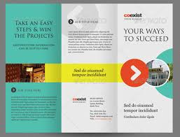 tri fold school brochure template tri fold brochure template indesign free 35 premium free brochure