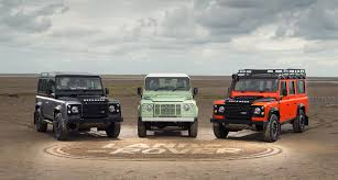 land rover vintage defender special editions for land rover defender u0027s final year classic