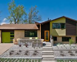 split level ranch house converted split level houzz