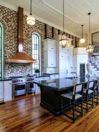 Red Kitchen Backsplash by Bathroom Kitchen Brick Breathtaking Kitchens Inglenook Brick
